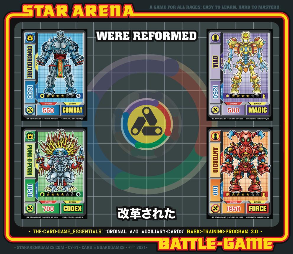 ORDINAL CARDS